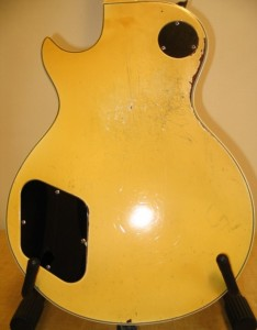 Les Paul Body Rear