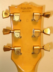 Les Paul Head Rear