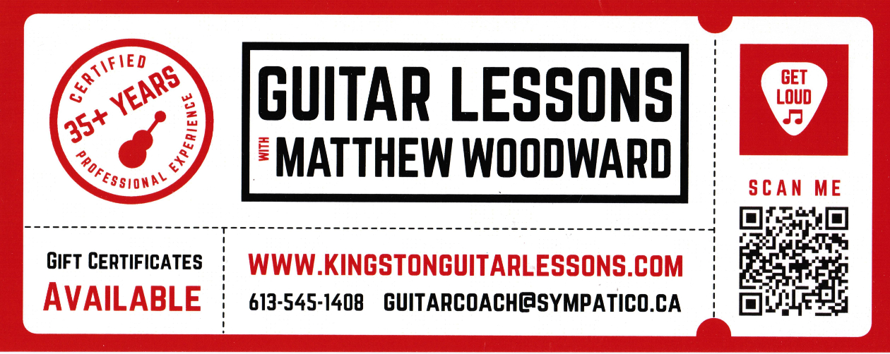 www.kingstonguitarlessons.com business card