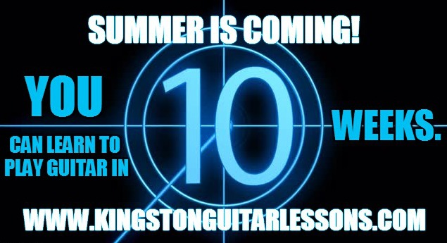 KINGSTON ONTARIO GUITAR LESSONS with Matthew Woodward